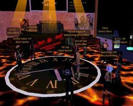 Boehse Onkelz im Second Life  - Fahrt zur Hölle