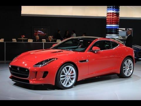 2015 Jaguar F-Type Coupe Preview: 2013 Los Angeles Auto Show Video