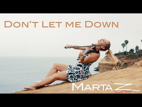 My Electric Violin Cover of Don't Let Me Down