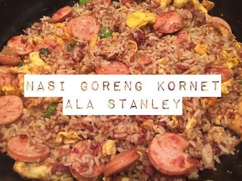 Video Resep Nasi Goreng Kornet ala Stanley | HUNGER CURE