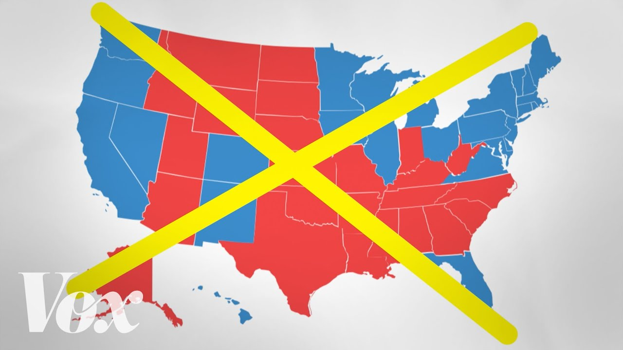 The bad map we see every presidential election thumbnail