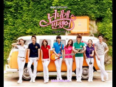 So give me a smile M Signal instrumental with lyrics ( Lee Hyun Jin ft Park Shin Hye & Jung Yong Hwa