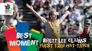 Brett Lee claims first T20I hat-trick | AUS v BAN | T20WC 2007