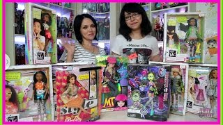 ПОПОЛНЕНИЕ В КОЛЛЕКЦИИ: MONSTER HIGH/BARBIE/MOXIE TEENZ/PROJECT MC2