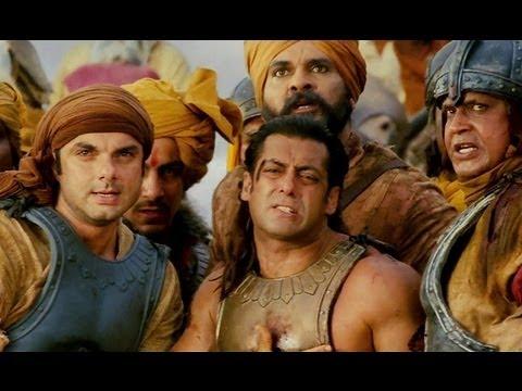 Warrior Salman Khan bleeds red - Veer