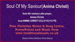 Soul of Christ latin - मुफ्त ऑनलाइन वीडियो