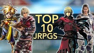 Top 10 JRPGs (No Squaresoft) | Mike's Picks
