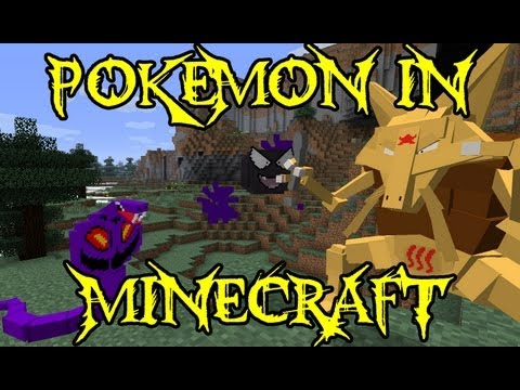 Minecraft Mod Showcase - Pixelmon - Mod Review - Pokemon in Minecraft