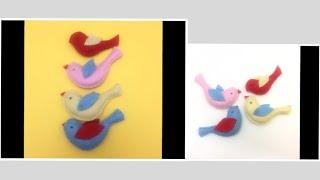 Felt Birds / Felt Crafts