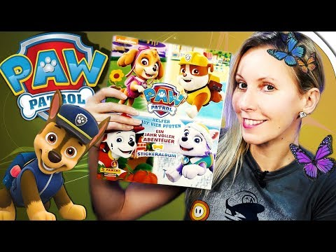 PAW PATROL Sticker und Stickeralbum 🐕 Panini Unboxing