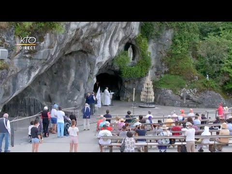 Chapelet du 20 juillet 2020 à Lourdes