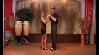 Salsa - krok Mambo v klasickém držení páru
