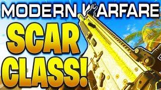 """HIGH DAMAGE! SCAR BEST CLASS SETUP MODERN WARFARE """"FN SCAR 17"""" Best Class Setups in MW #13"""