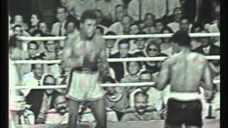 Cassius Clay aka Muhammad Ali v Alonzo Johnson 1961