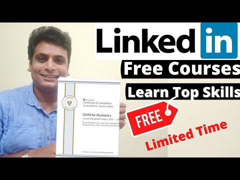 LinkedIn Free Courses With Certificate Python Java JavaScript Data ...