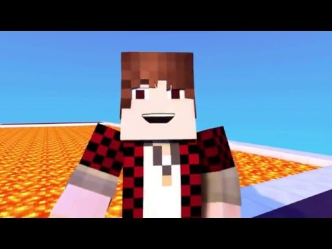 Minecraft Animation - FUNNIEST MOMENTS Lava Race (Animated Short) | JeromeASF