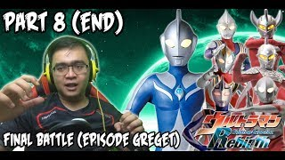 Ultraman Fighting Evolution REBIRTH (PS2) Part 8 (END) - FINAL BATTLE (EPISODE GREGET)
