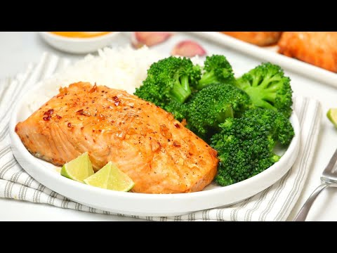 Honey Garlic Salmon | Healthy + Quick + Easy Dinner Recipe