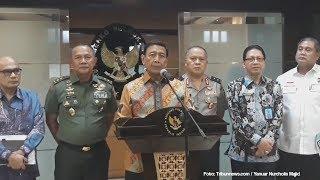 Update Kasus Nduga Papua, Wiranto: Empat Korban Masih dalam Proses Pencarian