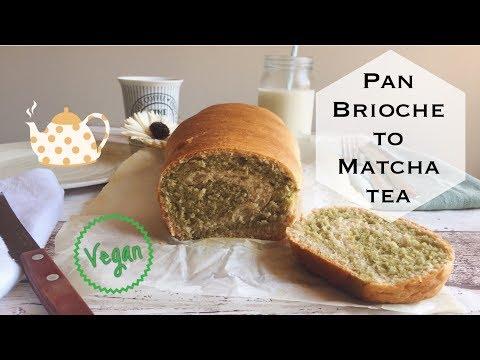 PAN BRIOCHE TO MATCHA TEA - VEGAN    PAN BRIOCHE VEGANO AL MATCHA