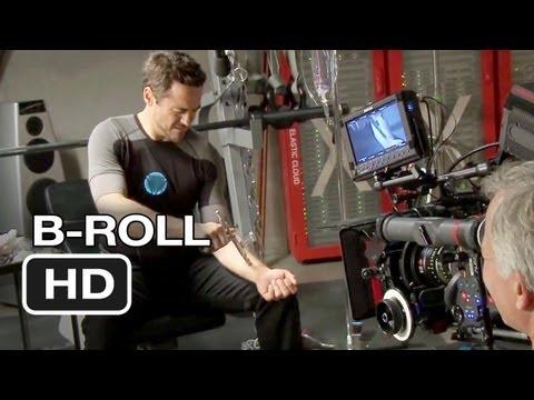 Iron Man 3: b-roll footage
