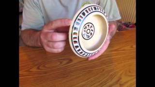 Turning A Sycamore Bowl With Milliput Epoxy Putty Inlay  Part 1