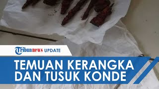Kerangka Manusia, Koin Tahun 1815, dan Cincin Ditemukan di Bogor di Dalam Septic Tank