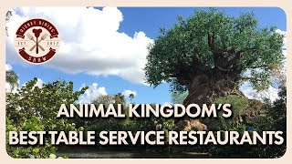 Animal Kingdoms Best Table Service Restaurants   Disney Dining Show   02/07/20