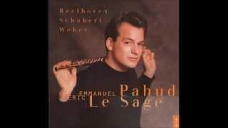 Schubert - Introduction et Varation. Pahud, Flute - Lesage, Piano