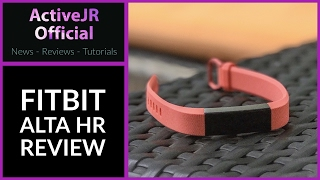 Fitbit Alta HR review // Best fitness tracker 2017
