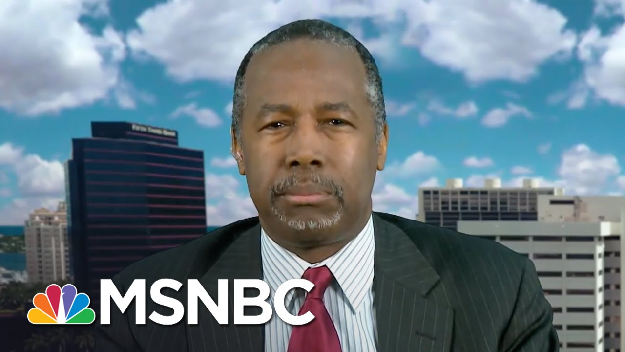 Ben Carson: Donald Trump Will Fight Fire With Fire | Morning Joe | MSNBC thumbnail