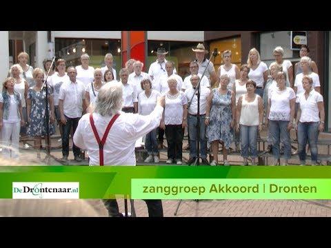 Zangroep Akkoord, Flevo's Mannenkoor en Joanne Haasjes zingen op Havenplein