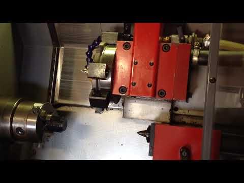 Centroid Acorn CNC: How To Setup Lathe Tools - смотреть