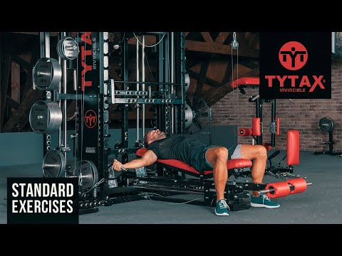 TYTAX® T1-X | Cable Lying Chest Fly