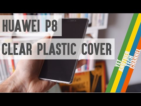 Clear plastic cover for Huawei P8 review