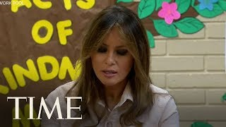 First Lady Melania Trump Makes Surprise Visit To Child Detention Center In Texas | TIME