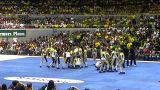 NU Pep Squad at the 2011 UAAP Cheerdance Competition (Video by GoBulldogs.Ph)