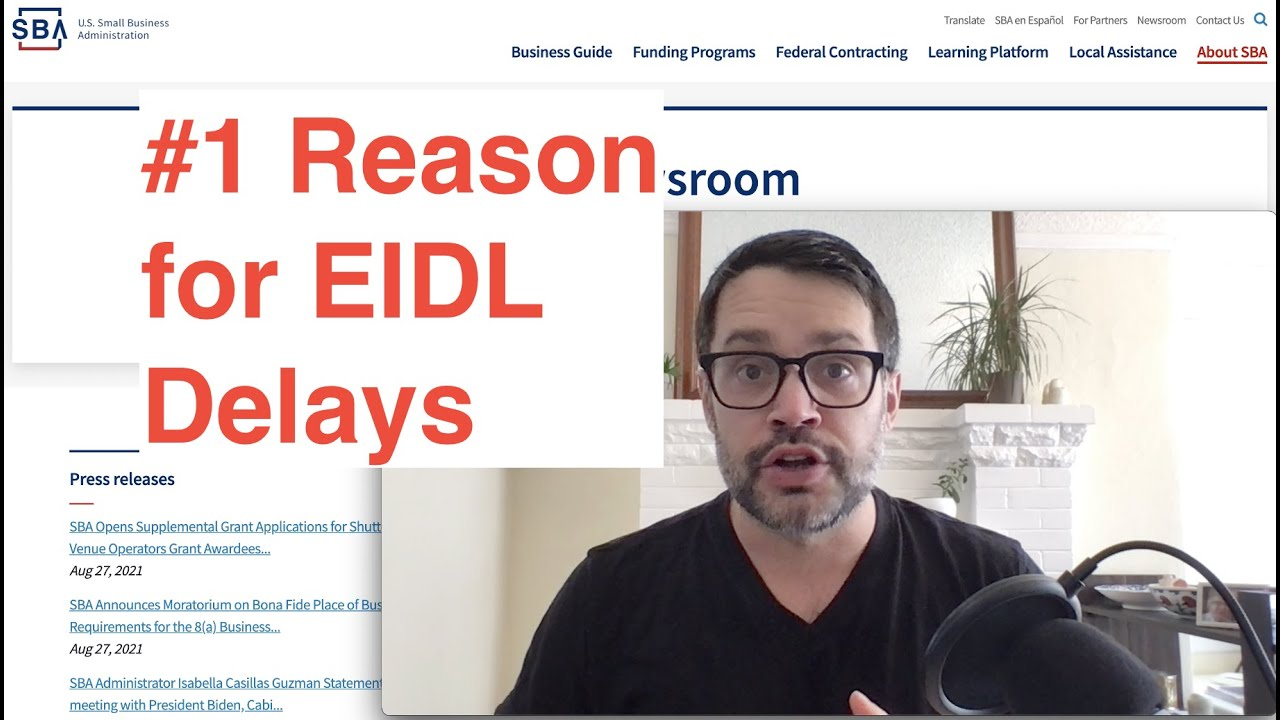 # 1 Factor for EIDL Loan Delays Crucial Tax Records News thumbnail
