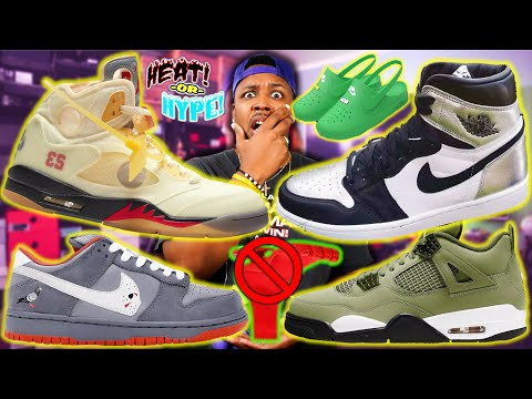 WTF ARE THESE! Upcoming Fire 2020 Sneaker Releases! WARREN LOTAS, OFF-WHITE JORDAN 5, & SILVER TOE 1