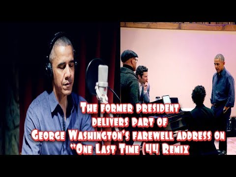 WOW.!! Barack Obama Joins Lin-Manuel Miranda On A 'Hamilton' Remix Mp3
