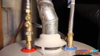 Install Tank Booster for Water Heater