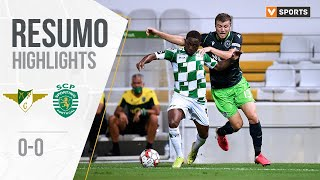 Highlights | Resumo: Moreirense 0-0 Sporting (Liga 19/20 #30)