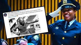 Black History Tweet Makes Cops FURIOUS