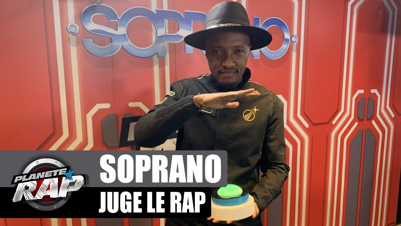 Soprano JUGE le RAP français ! (Kanoé, Tiakola, Doria...) #PlanèteRap