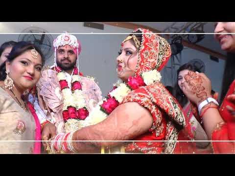 Sakshi vinay marriage Jai Mala Ok