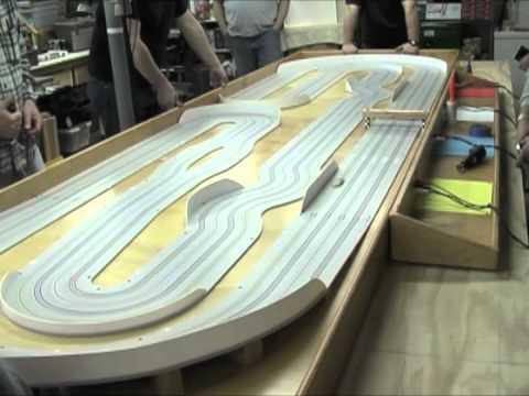 "First HO Slot Car Race on SlotCarRacer.com's 54′ TKO Track – ""A"" Main"