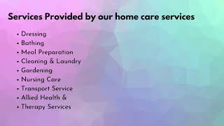 Everything You Need to Know About Home Care Services - Lutheran Aged Care