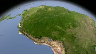 The Deforestation of the Amazon (A Time Lapse)