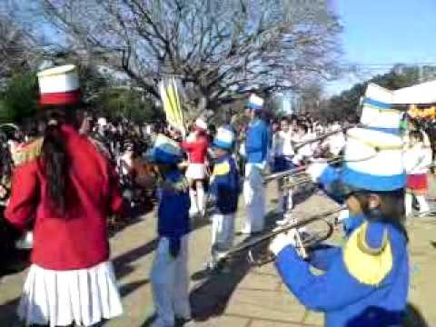 Banda escolar, Pantera Rosa - Escuela 48 - Chacras - Villa Constitucion - Salto