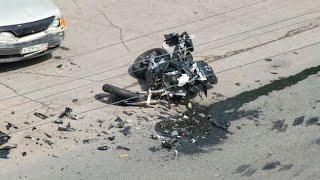 Мото аварии со смертельным исходом, подборка 18+